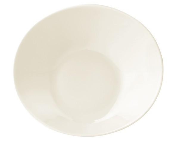 Seltmann Porzellan Maxim Uni Gourmetschale tief Organic M5374/16 cm Draufsicht